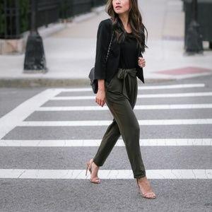 NWT EXPRESS Petite Mid Rise Olive Pants
